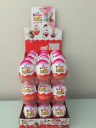 New Kinder Joy With Surprise Eggs In Toy And Chocolate For Girls - 8 X Eggs