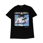 Fashion Victim Ghost In The Shell T-shirt Body Size L Black From Japan