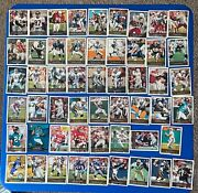 Vintage Football ..hall Of Fame Players Cards Lot Of 54...
