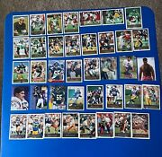 Vintage Football ..hall Of Fame Players Cards Lot Of 39