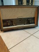 Schaub-lorenz Savoy Stereo 10 Type 14410 4-band Am Fm Sw Radio Works Really Well