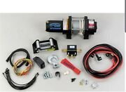 Ramsey 12 Volt Dc Powered Electric Atv Winch With Wireless Remote - 3000-lb.