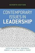 Contemporary Issues In Leadership By William E. Rosenbach 9780813345574