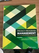 Privacy Programme Management Second Edition