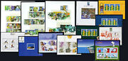 2000 Portugal, Azores, Madeira Complete Year Mnh. 14 Souvenir Sheets, Blocks.