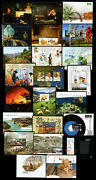 2010 Portugal, Azores, Madeira Complete Year Mnh. 23 Souvenir Sheets, Blocks.