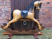 Large Contemporary Rocking Horse By Ian Armstrong Christening Worldwide Ship