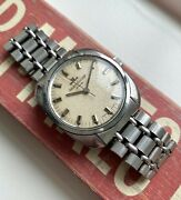 Vintage Jaeger Lecoultre Club Manual Wind Cream Patina Dial Serviced Watch