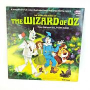 Walt Disney The Story And Songs Of The Wizard Of Oz Lp Disneyland 3957 Vg+ 1969
