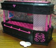 Monster High Coffin Bed / Jewelry Box From Dead Tired Draculaura - 12 X 5 X 5