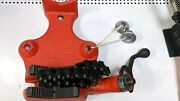 New Ridgid Bc810a Top Screw Bench Chain Vise 1/2 To 8- Free Shipping