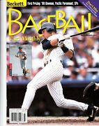 Baseball Card Monthly Jeter/canseco Beckett Magazine July 1999 Issue 172