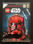 Lego Star Wars Sith Trooper Bust 77901sdcc 2019 Exclusive 1422 Of 3000 New