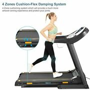2.5hp Electric Treadmillhome Incline Folding Jogging Running Machine With Appand