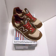 New Balance 574 Made In Usa M574pb Paul Bunyan Running Shoes Brown Mens Sz 8.59