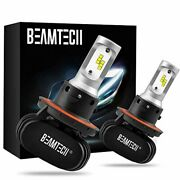 Beamtech H13 Led Bulb 50w 6500k Extremely Brigh 9008 Csp Chips Conversion Kit