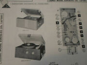 Arvin 82p31 82n28-03 Stereo Record Changer - Schematic And Parts - Sams Photofact