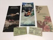 Walt Disney World Discovery Island Andriver Country Brochure And Tickets