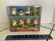 Fisher-price Disney Little People Snow White And The Seven Dwarfs Y2781 New