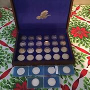 Lot Of 21 National Wild Turkey Stamp Coins 1973-2003 And Special Coins