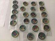 1964 Topps Baseball Coins, Lot Of 23 Coins