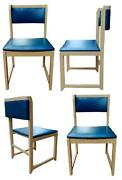 Lot Of Four Chairs By Design Original Years 70 Vintage Modern Antiques