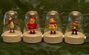 Hallmark 2008 Happy Tappers Complete Set Of 4 Santa Elf Reindeer Snowman