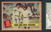 Sgc 9 Mint Ruth Special 1962 Topps 137 Babe Mgr Huggins Graded Jewel V-tphlc-abc
