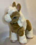 Furreal Friends Baby Butterscotch Show Pony Interactive Pet Horse Great Cond