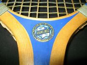 Antique Very Rare Nos Rawlings Richelieu Tennis Racket And Unopened Ball Can