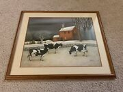 Lowell Herrero, Cows Of Homie House | Signed Limited 1950 Lithograph