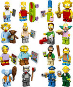 Lego 71005 Complete Set New Factory Sealed 16 The Simpsons Minifigures Neveropen