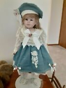 One Of A Kind Porcelain Doll - Hannah And Benji By Gene Schooley
