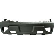 Front Bumper Cover For 2002 Chevy Chevrolet Avalanche 1500 W/ Fog Holes Textured