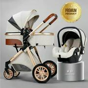 Luxury Baby Stroller 3 In 1 High Quty Wide Selection Of Colors - Best Prices New
