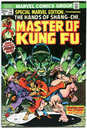 Master Of Kung-fu 17-125 Ann 1g-s 1-4 Special Marvel Edition 15-16 115 Iss