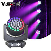 V-show Only For Usa 3715w Rgbw 4in1 Led Zoom Wash Color Mixed Moving Head Light