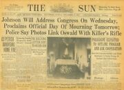 Kennedy Lies In State Day Of Mourning Oswald Is Assassin November 24 1963 B40