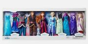 🔥 Disney Store Frozen Fashion Doll Deluxe Gift Set 12 Figures W/ Costumes 🔥
