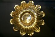 2 X Large Solid Cast Brass Ceiling Plate