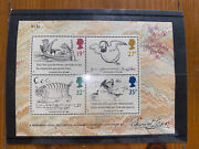 Stamps - Edward Lear - Second Series Of Minature Sheets Ms1409