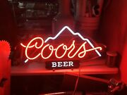 1970s-80s Coors Neon Bar Sign Light - Excellent Condition - 27 X 14