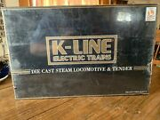 K-line K3697-0332s Western Pacific Mikado Steam Engine W/tmcc And Railsounds