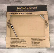 Brand New Quicksilver 897977a12 Shift/throttle Cable 12and039 Mercury/mercruiser