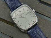70and039s Vintage Watch Mens Schaffhausen Ref. 582.379 Automatic Cal. 3254 Steel