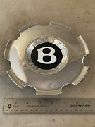 Bentley Flying Spur Continental 20 Chrome Center Hub Cover Cap 3w0 601 161 165