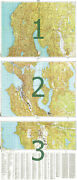 Russian Soviet Military Topographic Map - Seattle Usa125 000 Reprint
