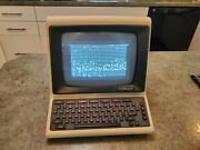 Rare Vintage Computer Scanset Personal Infor Terminal France Tte 415b W Manual