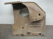 1954 Mercury Nos Right Radiator Air Deflector Shield Core Support Duct Panel 53