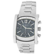 Bvlgari Bulgari Assioma Aa48sch Menand039s Stainless Steel 38mm Automatic Watch
